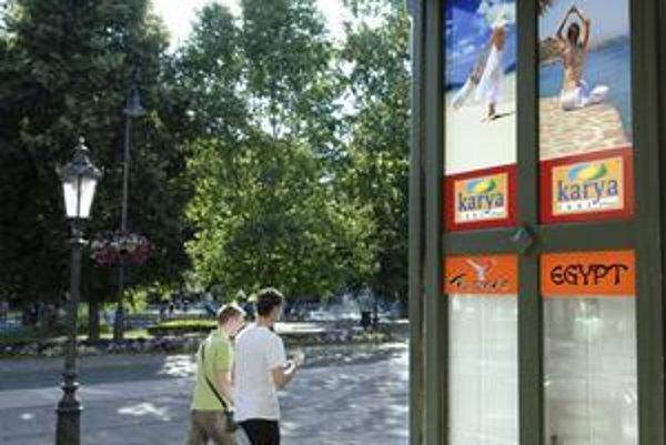 Pobočka zatvorená. Karya Tour predávala do včera zájazdy aj v Košiciach.