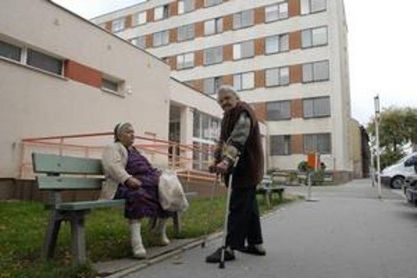 Domov dôchodcov na Garbiarskej ulici.