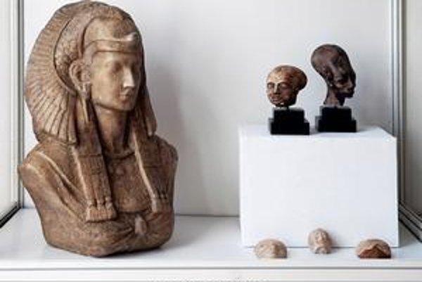 Atmosféra starovekého Egypta. Výstava núka 340 replík.