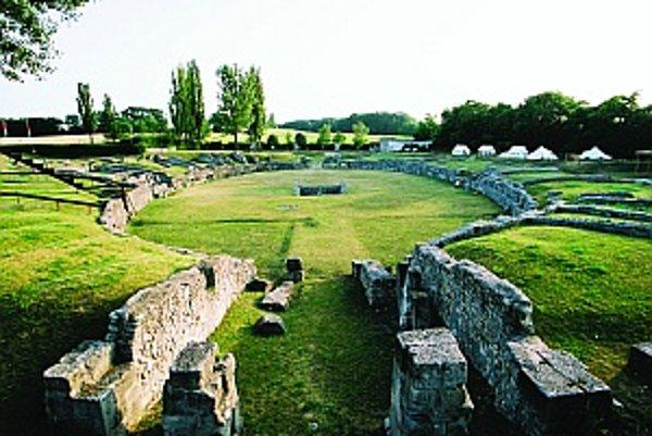 Pozostatky rímskej arény