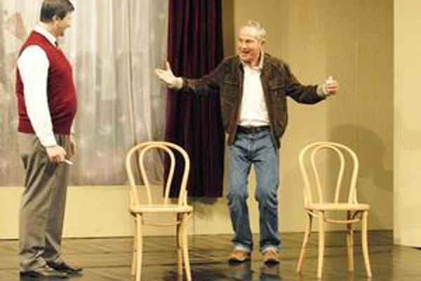 Kumšt. Predstavenie, v ktorom exceloval Jan Tříska, prijali Košičania s nadšením.