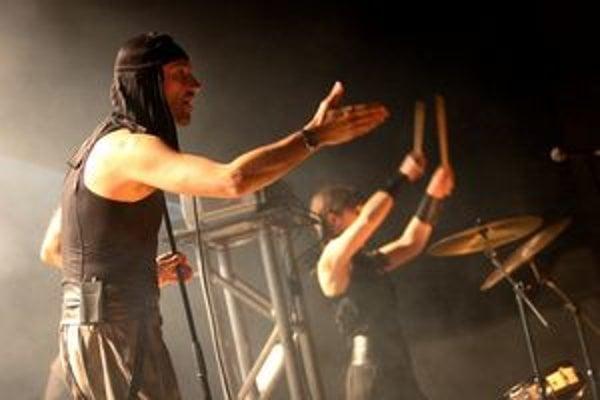 Kultová slovinská kapela sa prvýkrát predstaví v Košiciach. Na snímke spevák Milan Fras.