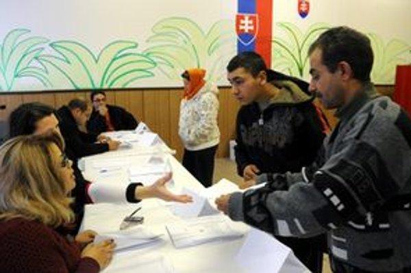 O komunálne voľby je na Luniku IX tradične najväčší záujem.