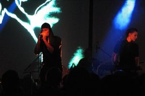 Laibach na košickom pódiu.