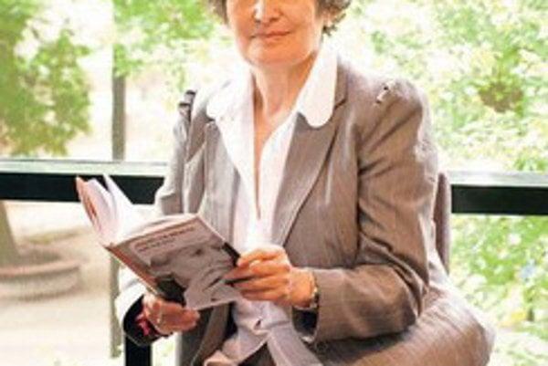 Herečka Eva Matejková.