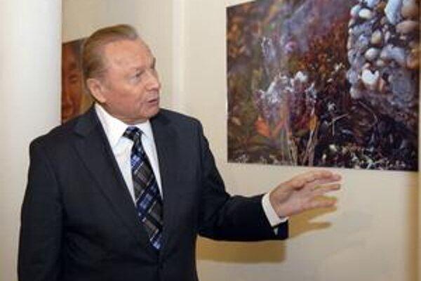 Výstava fotografií exprezidenta Rudolfa Schustera.