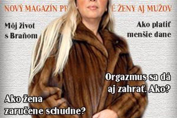 Takto vyzerá titulná strana nového magazínu.