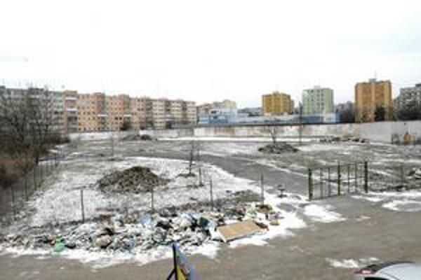 Bývalé detské dopravné ihrisko. Na jeho mieste si starosta predstavuje ľadovú plochu i minigolfové ihrisko.