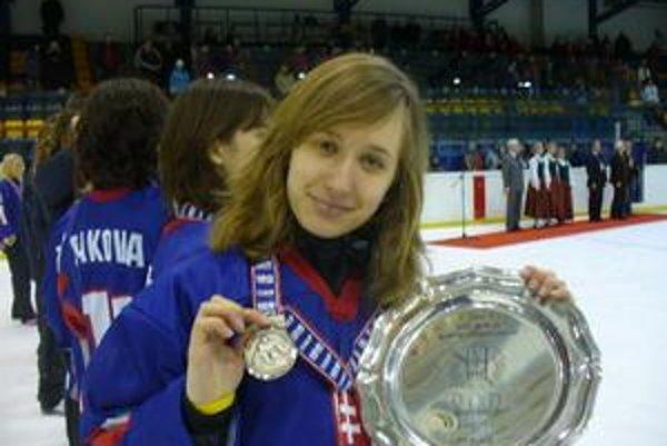 Barbora Brémová verí, že hokejistky nebudú vo Vancouveri posledné