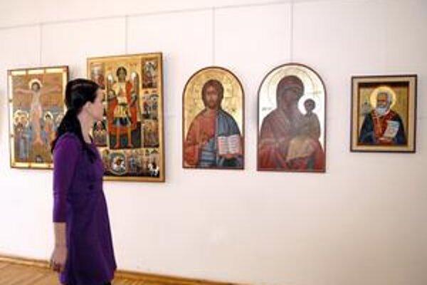 Ikony a sakrálne maľby. Ich pestrú paletu nájdete v technickom múzeu.