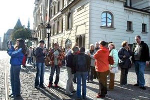 Turisti z Poľska. Mesto chce, aby sa návštevníci zdržali v Košiciach dlhšie.
