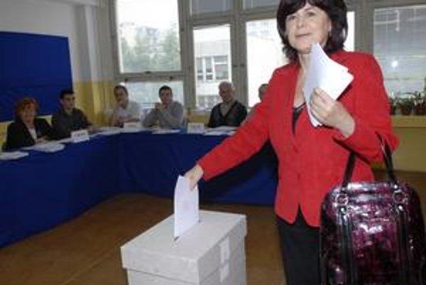 Monika Smolková. Kreslo v parlamente vymení za lukratívnejší džob europoslankyne.