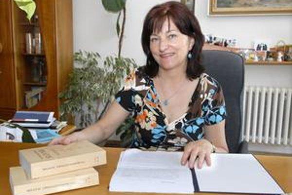 Riaditeľka knižnice. Klára Kernerová verí, že podujatie pomôže zviditeľniť Jána Bocatia.