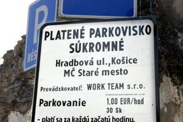 Parkovisko na Hradbovej patrí Starému Mestu. Tvrdia, že poplatky na ňom nemôžu ovplyvniť.