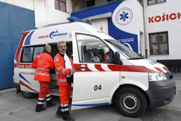 Košická záchranka, Jej záchranárov a autá uvidia východniari častejšie.