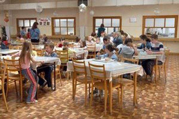 Strava v školskej jedálni