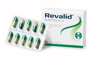 Voľnopredajný liek Revalid kapsule obsahuje aktívne zložky aminokyselín, vitamínov a minerálov, potrebných na podporu a udržiavanie zdravých vlasov, zastavenie vypadávania vlasov a zlepšenia ich kvality, Revalid od 7,95 €