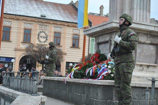 Pietna spomienka. Prešov si pripomenul 71. výročia svojho oslobodenia.