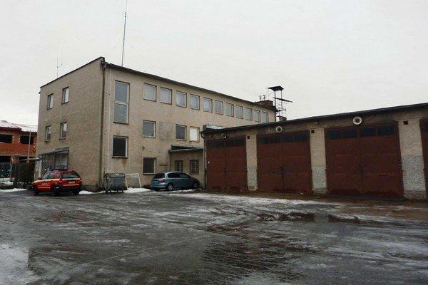 Hasičská stanica vo Svidníku ešte pred rekonštrukciou.