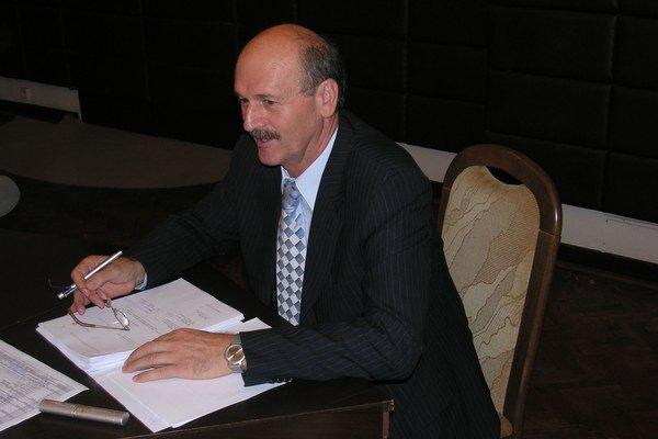 Bývalý primátor Prešova Milan Benč. Má dlhodobo vážne zdravotné problémy, na odvolací súd dnes nemohol prísť.