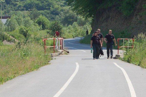 Cyklochodník pri Veľkom Šariši.