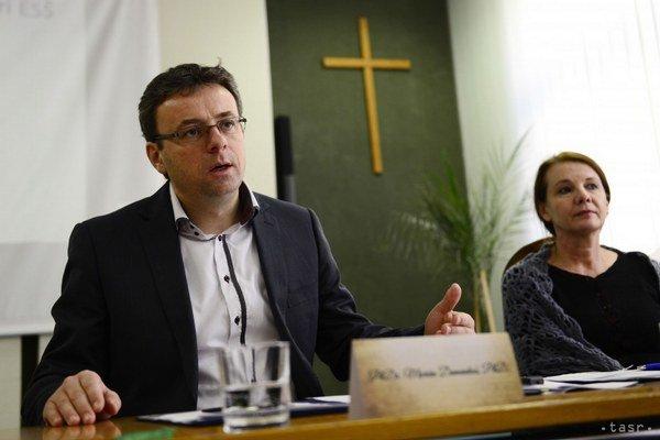 Marián Damankoš. Prevzal žezlo SDKÚ-DS v Prešove.
