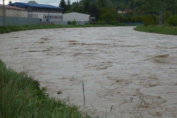 Torysa. V Prešove sa nevybrežila, horšia situácia bola v Sabinove.