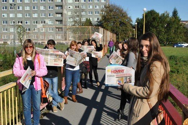 Prešovské noviny. Nový týždenník v meste pri Toryse zaujal.