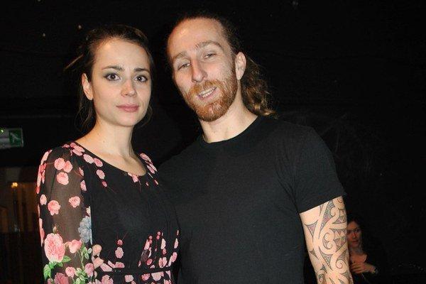Šťastný pár. Gabika s Martinom sa zasnúbili.