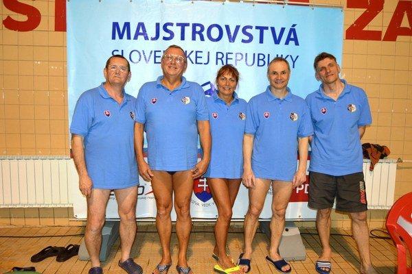 Plavci ŠKP Prešov sa silnej konkurencii nestratili.