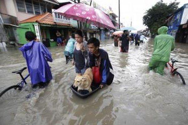 Záplavy spred dvoch rokov vo filipínskej Manile spôsobilo aj odlesňovanie.