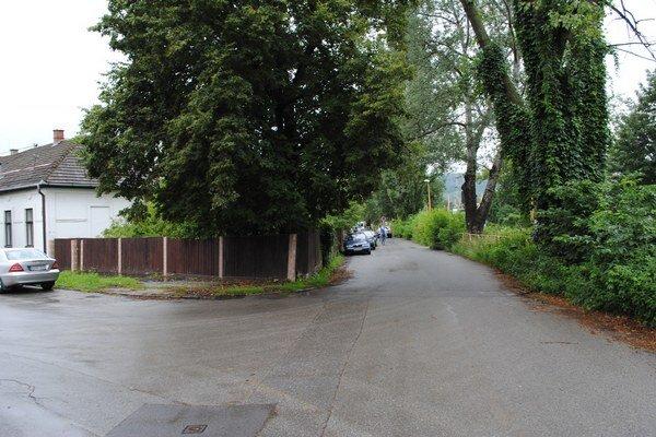 Kuzmányho ulica v Prešove. Zrekonštruovať ju mienia do dvoch rokov.