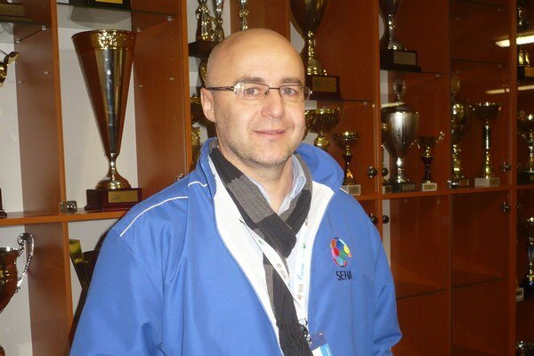 Branko Benko. Informoval o novinkách v nadnárodnej lige.
