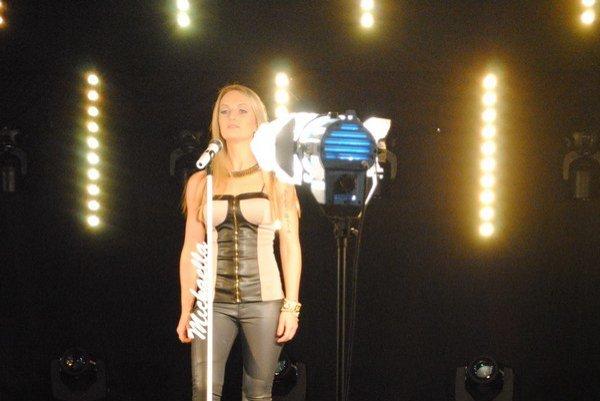 Nahrávanie klipu Stop! Michaella tento song predstaví na medzinárodnom festivale.
