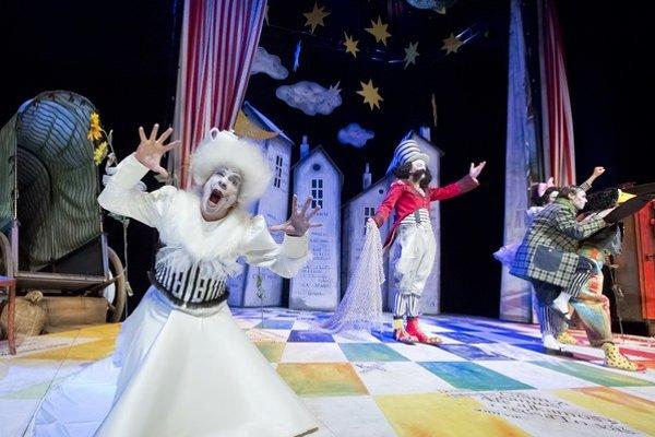 Snehová kráľovná. Zahral si ju Miroslav Bodoki.