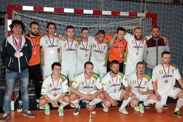 Bronzový Prešov. Futsalisti FK Slovanet s historickým úspechom.