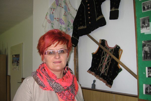 Starostka Ľubovca Jozefína Štofanová.
