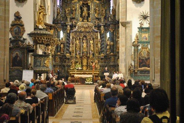 Noc kostolov. Zapojila sa do nej aj prešovská Konkatedrála sv. Mikuláša.