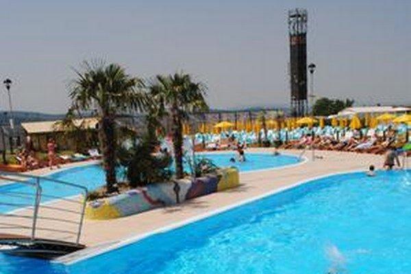 Kúpalisko Plaza Beach na prešovskom Solivare.