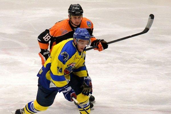 Ocenený. Najlepším útočníkom v I. hokejovej lige v minulom ročníku bol Igor Halás.