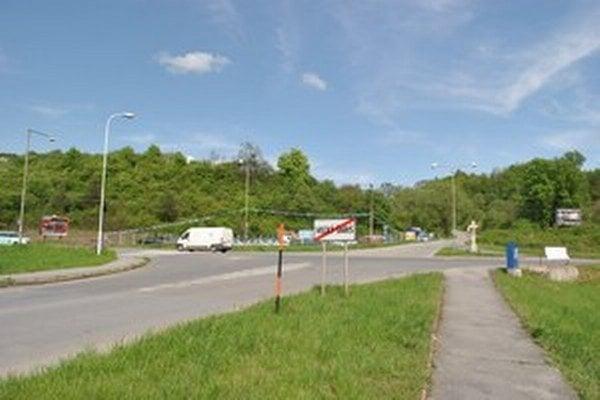 Križovatka, kde sa odohrala nehoda.