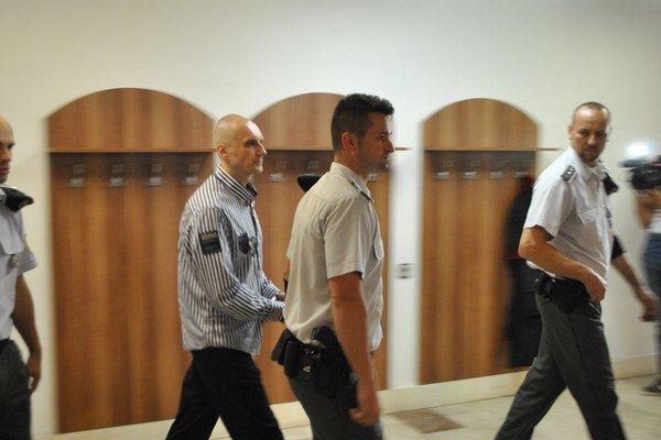 Hlavný obžalovaný. Senát Okresného súdu v Prešove ešte nevyriekol rozsudok.