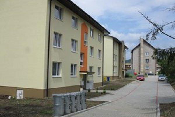Nové byty. Dvanásť rodín z Terne získalo strechu nad hlavou.