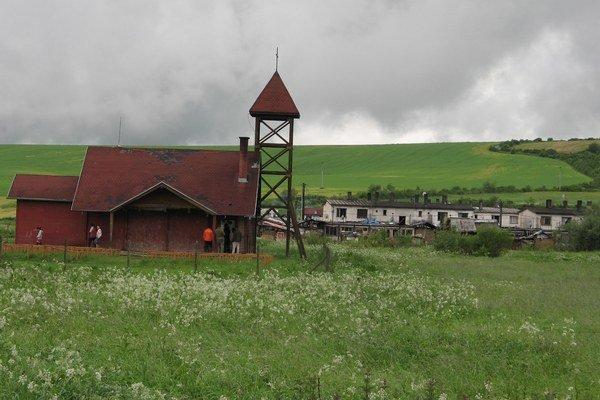 Osada pri obci Svinia. Tu sa stalo nešťastie.