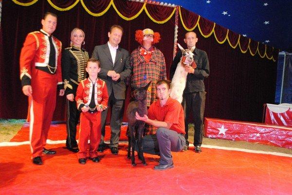 Malá lama Preska. Narodila sa cirkusákom v Prešove.