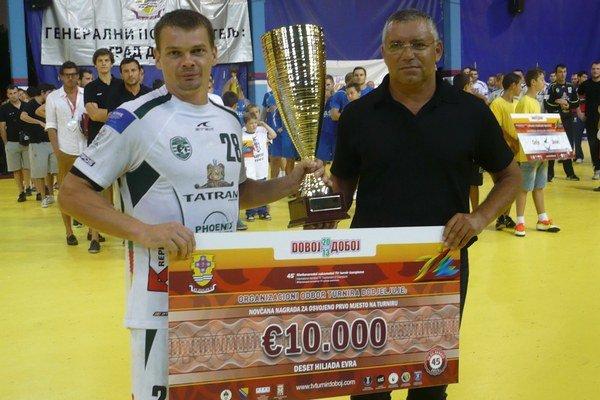 Radoslav Antl v Doboji preberal ocenenia, teraz by si iste rád vychutnal postupovú radosť.
