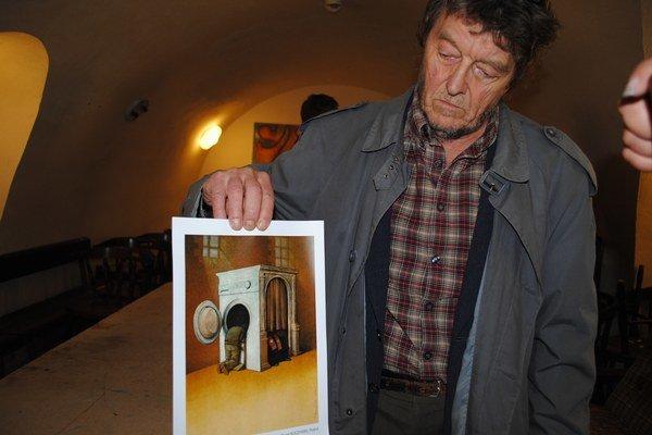 Fedor Vico ako člen poroty predstavil víťaza.
