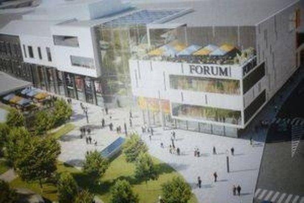 Vizualizácia. Takto má vyzerať Forum.