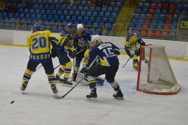Nestačilo to. Ľ. Sabol (vľavo) síce na Spiši skóroval, ale i tak Prešov prehral.