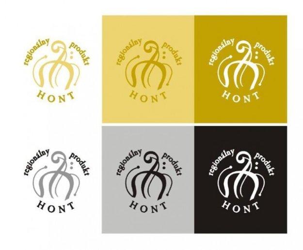 Logo regionálneho produktu Hont.